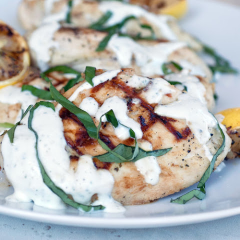 Lemony Yogurt Ranch Chicken Breasts