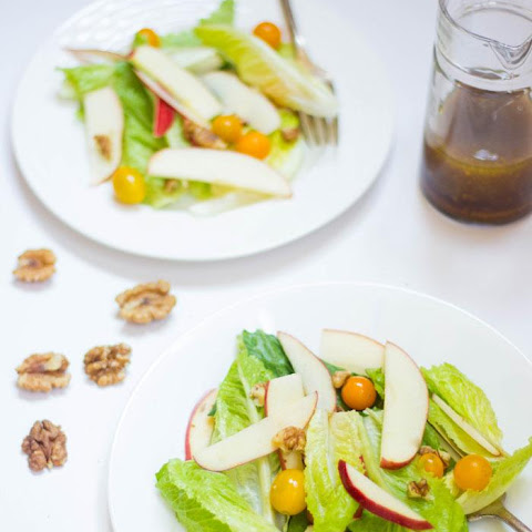 Apple Walnut Summer Salad