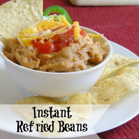 """Instant"" Refried Beans"