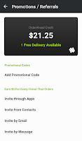 Screenshot of OrderAhead