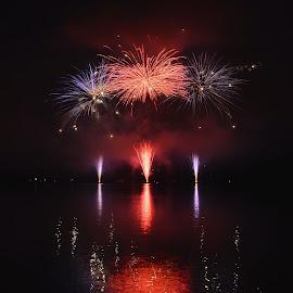 """IGNIS BRUNENSIS 8.6.2016  """"ZAKLIATÁ ZEM"""" Slovakia PRIVATEX PYRO Slovensko by Petr Olša - Abstract Fire & Fireworks"""