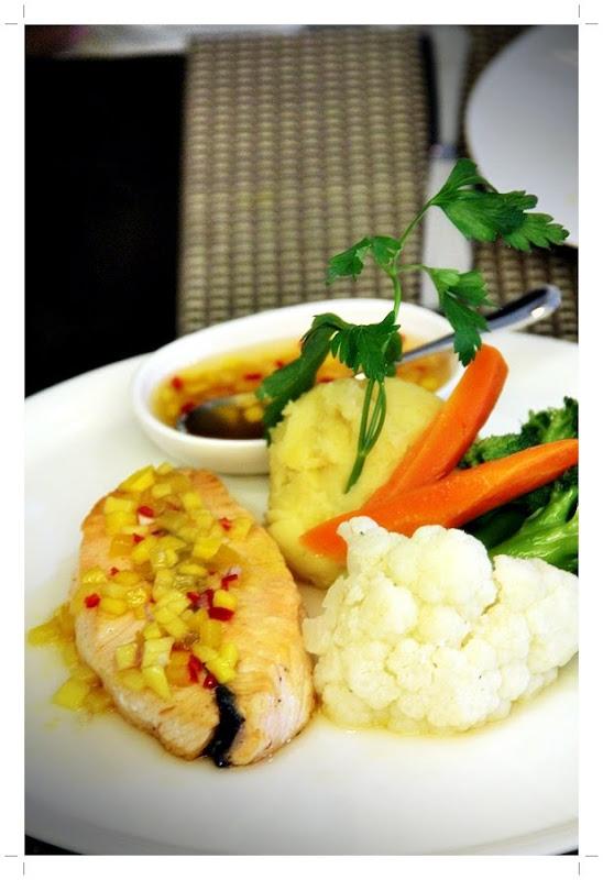 Ala Salsa Salmon Bountiful Kitchen Malaysia Food