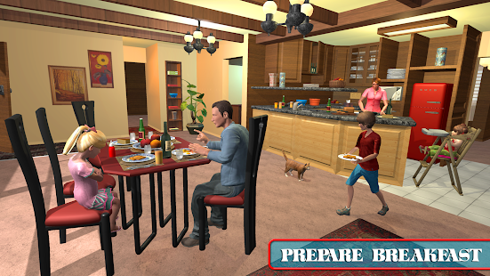 Virtual Mom Babysitter: Family Fun Time for pc