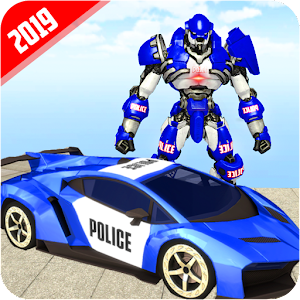 US Robot Police Car Transforming 19 For PC / Windows 7/8/10 / Mac – Free Download