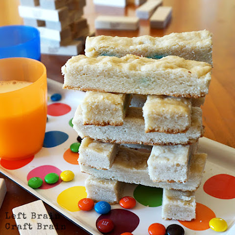 Game Night M&M's® Surprise Cookie Bars