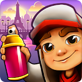 4.  Subway Surfers