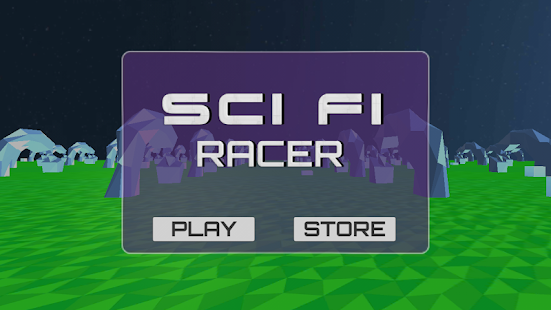 Sci fi Racer - screenshot
