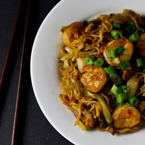 how to make pork chow mein