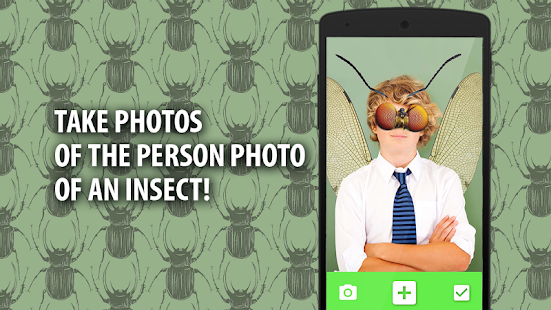 Ant insect Photo Editor - screenshot