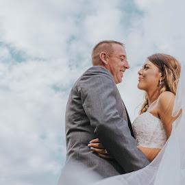 by Barnaby Staniland - Wedding Bride & Groom
