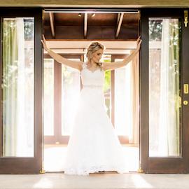 Door by Lood Goosen (LWG Photo) - Wedding Bride ( wedding photography, wedding photographers, wedding day, wedding, wedding dress, wedding photographer, bride, weddngs )