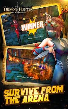 Demon Hunter:The Adventurers apk screenshot