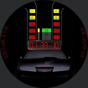 Knightrider Smart Watch Face For PC