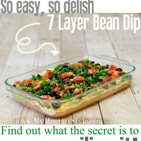 The Secret to 7 layer Bean Dip!