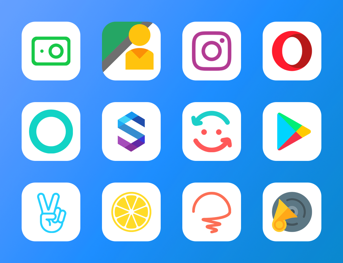 Lihtor - Icon Pack Screenshot 1