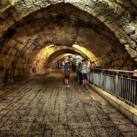 jerusalem by Abu  Janjalani Abdullah - Transportation Roads ( roads, transportation )