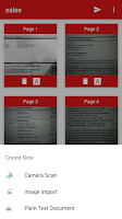 Screenshot of PDF Document Scanner