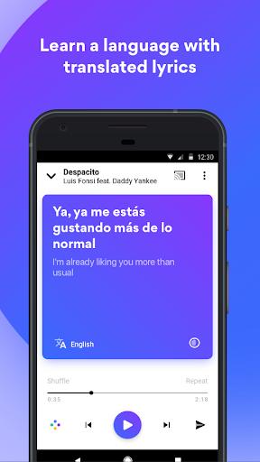 Musixmatch - Lyrics for your music screenshot 2