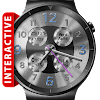 Brushed Silver HD Watch Face