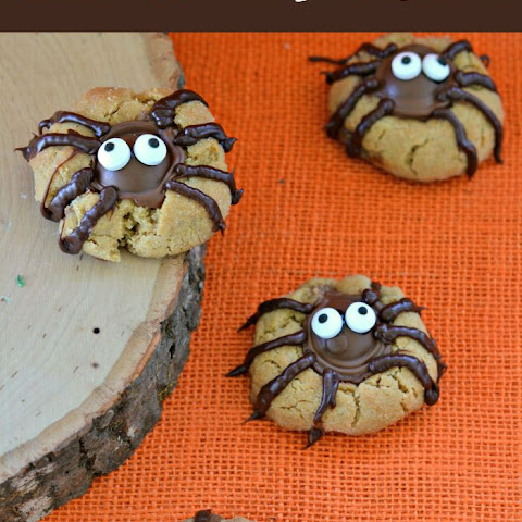 Peanut Butter Spider Cookies for a Creepy Crawly Fun Treat!