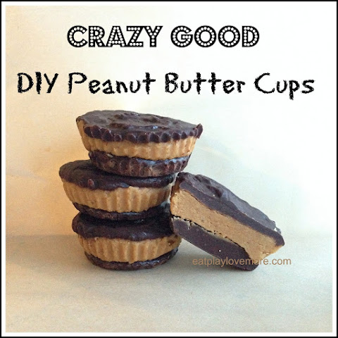 Crazy Good Peanut Butter Chocolate Cups