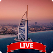 3D Burj Al Arab Live Wallpaper