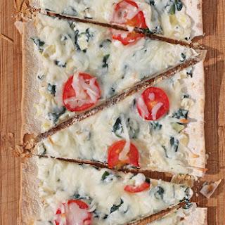 Spinach Artichoke Flatbread Recipes