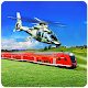 Train Vs Helicopter Racing 3D 2018