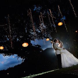 by Klien Cyril Trasmonte - Wedding Bride & Groom
