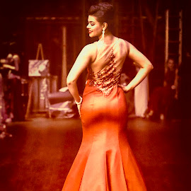 Vogue Red by Monte Arnold - People Fashion ( fashion, red, full length, beautiful, glamorous, pageant, gown, beauty, graceful, evening, glamourous )