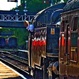 Look  out by Gordon Simpson - Transportation Trains