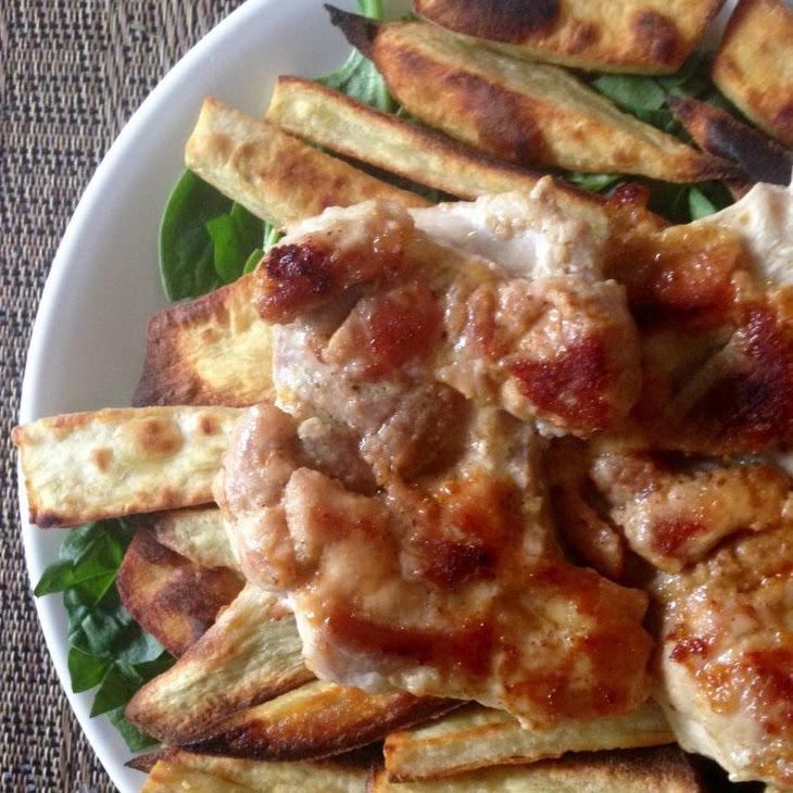 Quick Maple Mustard Chicken Chicken Thighs Recipe | Yummly