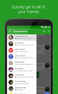 EvolveSMS (Text Messaging) Screenshot