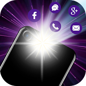 Calling flashlight Icon