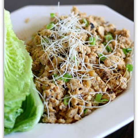 Slow Cooker Version of PF Chang's Chicken Lettuce Wraps