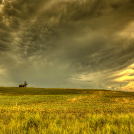 Out in the Middle by Michele Richter - Landscapes Cloud Formations ( clouds, hdr, weather )