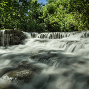 Waterfalls by M.H. O'Dell - Landscapes Waterscapes