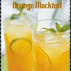 Orange Mocktail Recipe | Refreshing Mocktail Drink