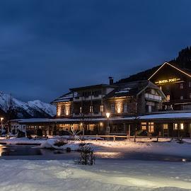 St.Anton am Arlberg  by Linda Brueckmann - City,  Street & Park  City Parks