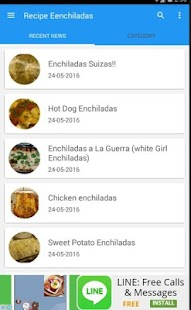 Recipe Enchilladas 100+ - screenshot