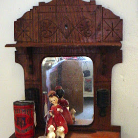 Shaving Station by Carol Boshears - Artistic Objects Antiques