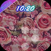 Flower lock - Screen Lock Pro APK for Bluestacks