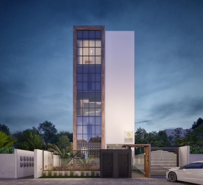 Apartamento com 2 dormitórios à venda, 56 m² por R$ 245.800 - Bom Retiro - Joinville/SC