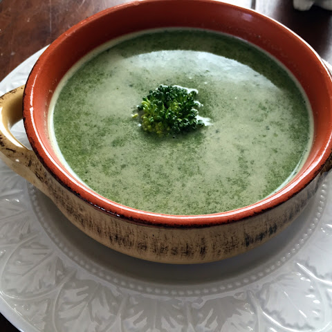 Powerful Greens Soup with Tahini