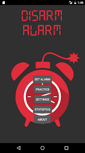 Disarm Alarm - screenshot