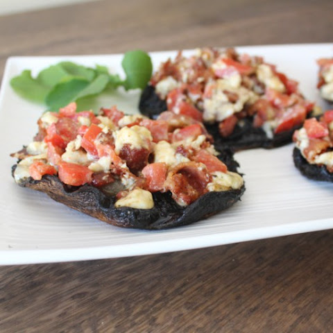 Grilled Stuffed Portobellos