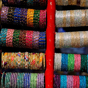 Colours galore - bangles by Tridibesh Indu - Artistic Objects Jewelry ( colourful, handicraft, faridabad, handicrafts, surajkund_mela, surajkund, bangles, delhi, colours )