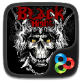 Black Night GO Launcher Theme APK for Ubuntu