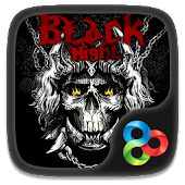 Download Black Night GO Launcher Theme APK for Laptop