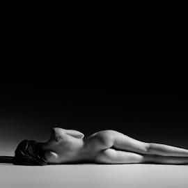 Cold floor by Niel Lombaard - Nudes & Boudoir Artistic Nude (  )